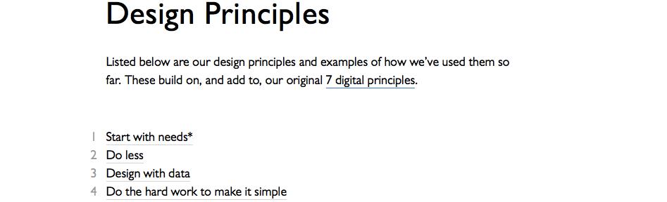 GOV.UK's Design Principles are big news for intranets